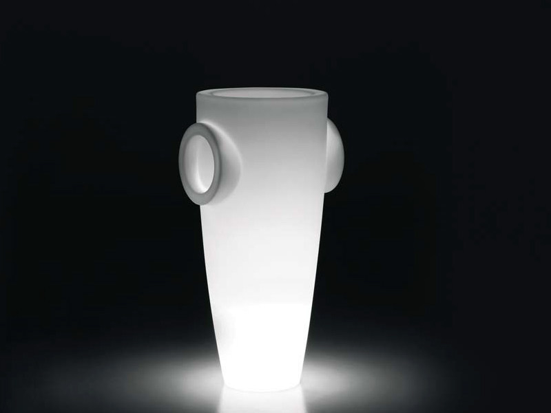 Polyethylene floor lamp HUMPREY LIGHT - PLUST Collection by euro3plast