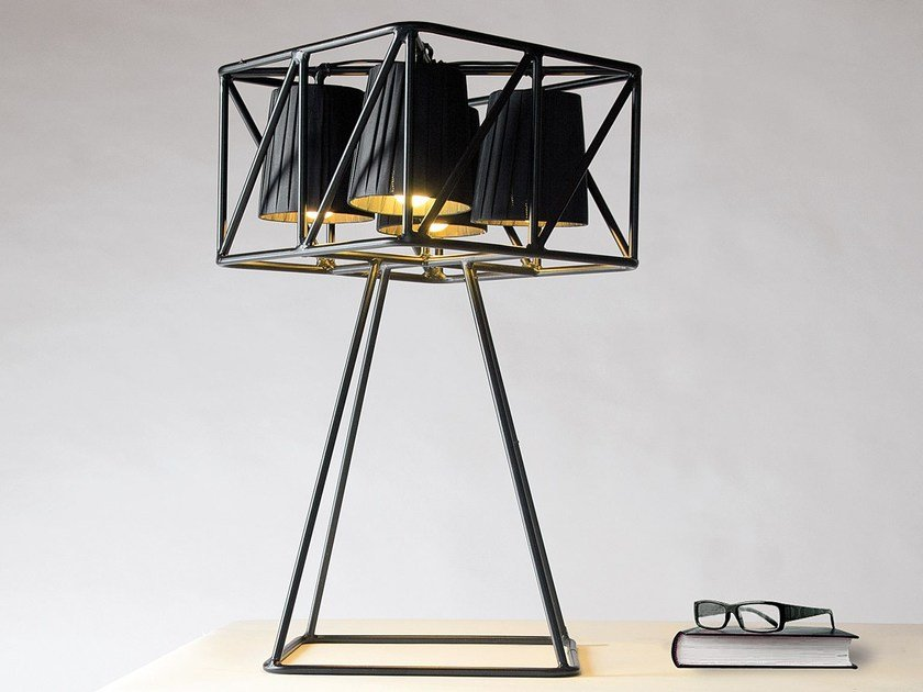 Metal table lamp MULTILAMP | Table lamp by Seletti