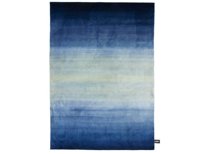 Handmade custom rug TYE 'N DYE SOIE by cc-tapis ®