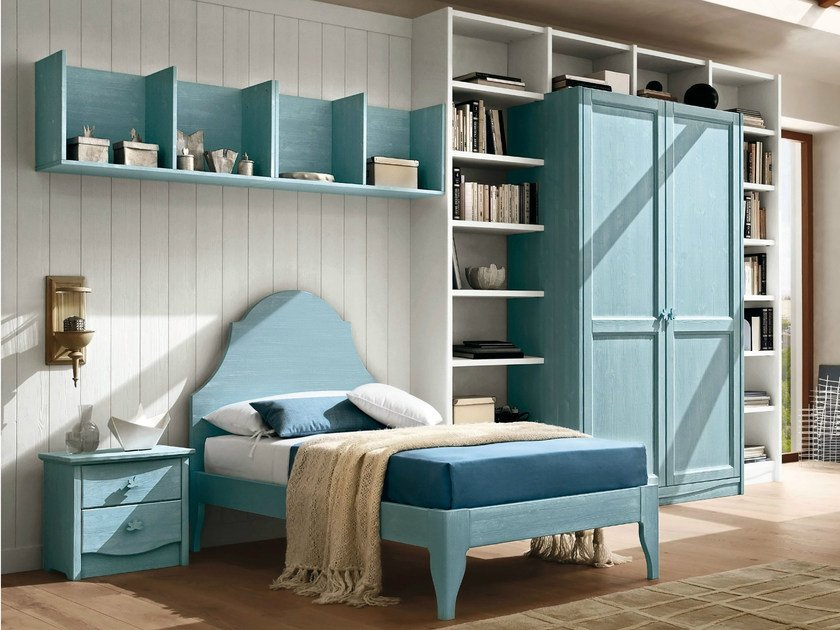 Wooden teenage bedroom EVERY DAY NIGHT | Composition 03 - Callesella Arredamenti S.r.l.