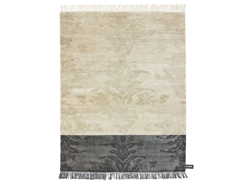 Rectangular rug with geometric shapes DIPPED DAMASK - cc-tapis ®