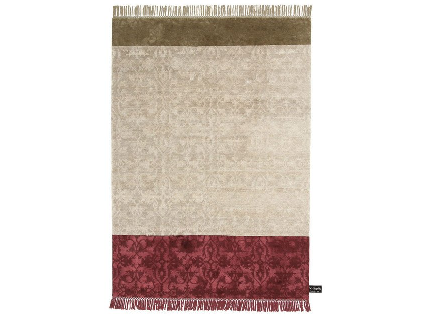 Rectangular rug with geometric shapes DOUBLE DIPPED LOTTO - cc-tapis ®