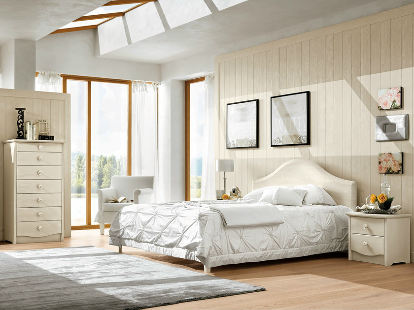 Wooden bedroom set EVERY DAY NIGHT | Composizione 05 by Callesella Arredamenti