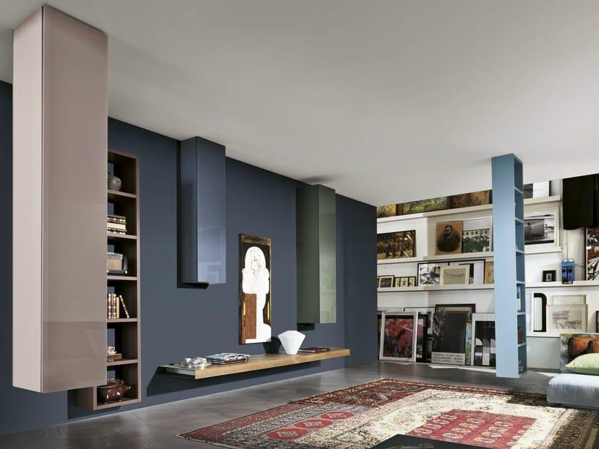 Divider modular storage wall 36e8 WEIGHTLESS - Lago