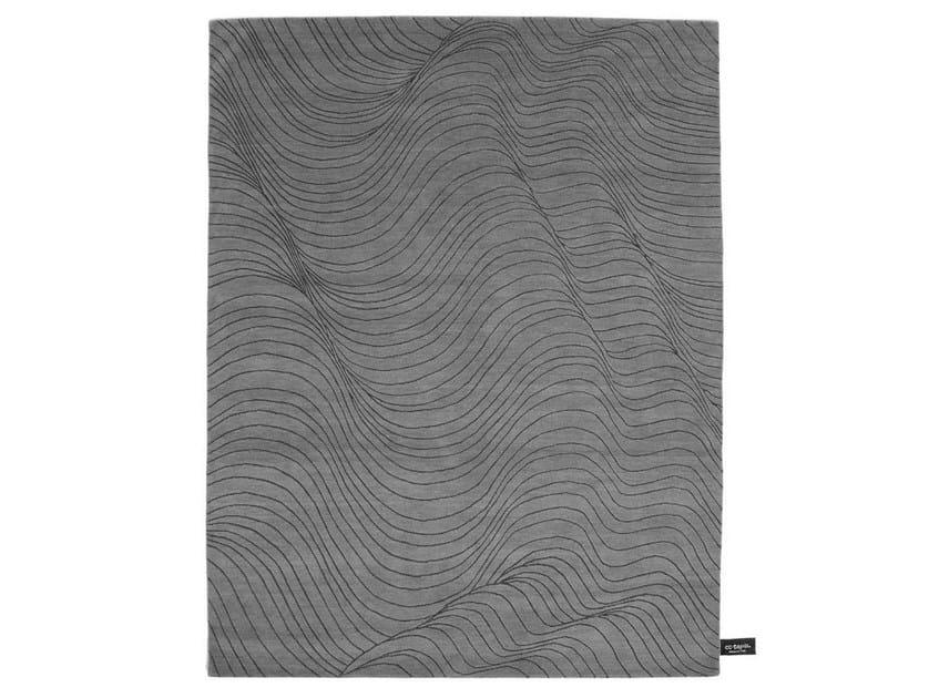 Handmade rectangular rug SKIN - cc-tapis ®