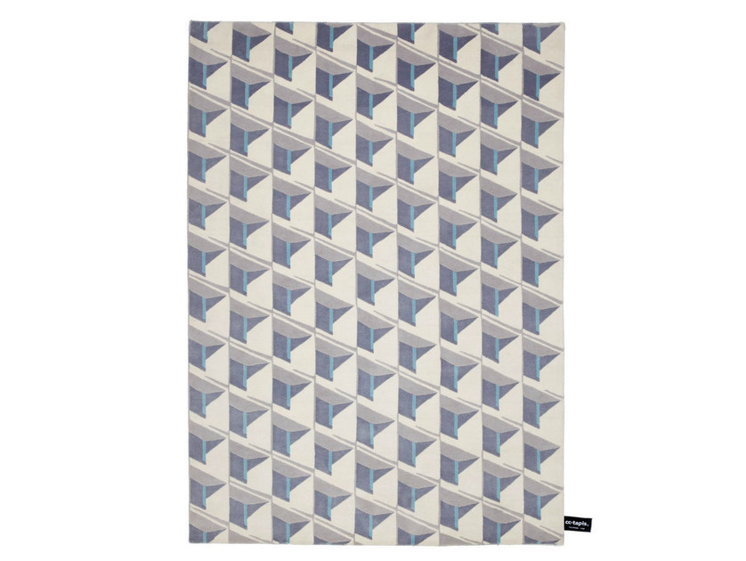 Handmade rectangular rug CARIBE HILTON - cc-tapis ®
