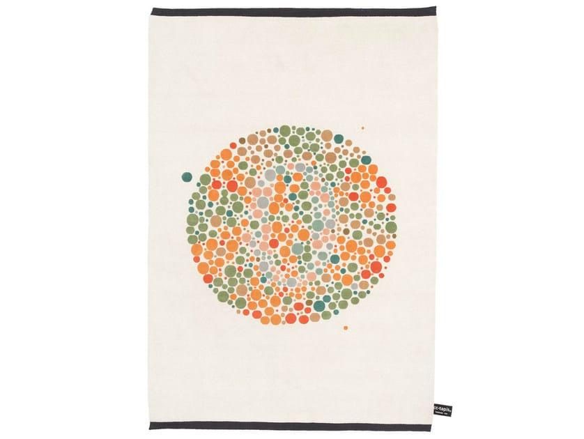 Handmade rectangular rug ISHIARA A - cc-tapis ®