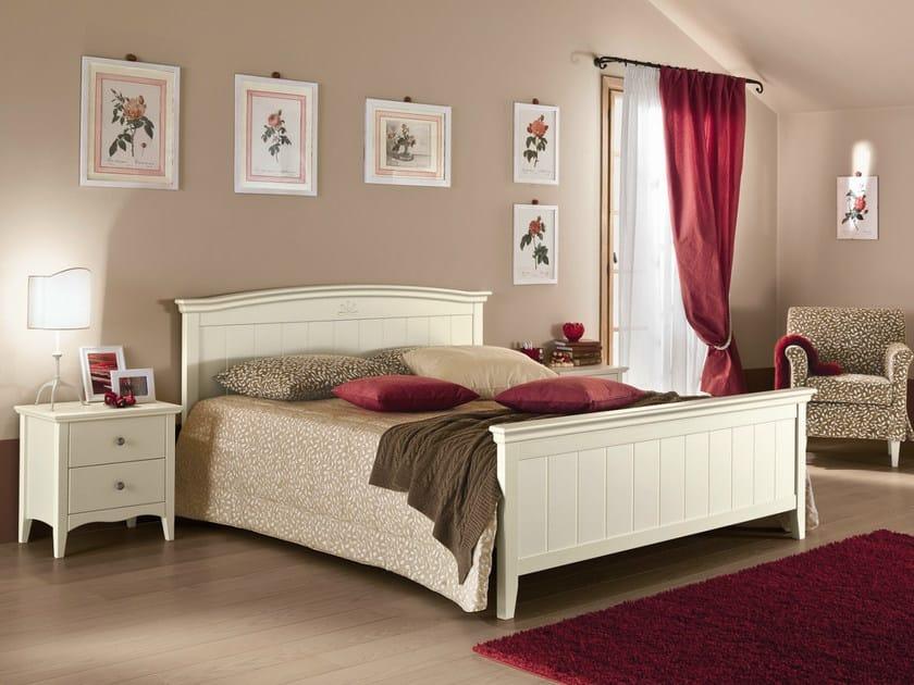Wooden bedroom set ROMANTIC | Composition 09 by Callesella Arredamenti