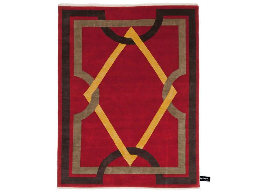 Handmade custom rug NEOCLASSIQUE by cc-tapis ®