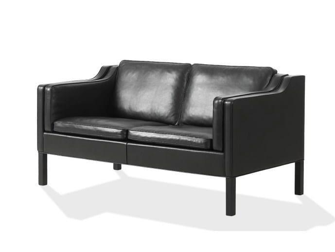 Contemporary style 2 seater leather sofa 2212 | Sofa - FREDERICIA FURNITURE