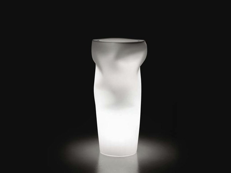 Vase bright Polyethylene SAVING/SPACE/VASE LIGHT - PLUST Collection by euro3plast