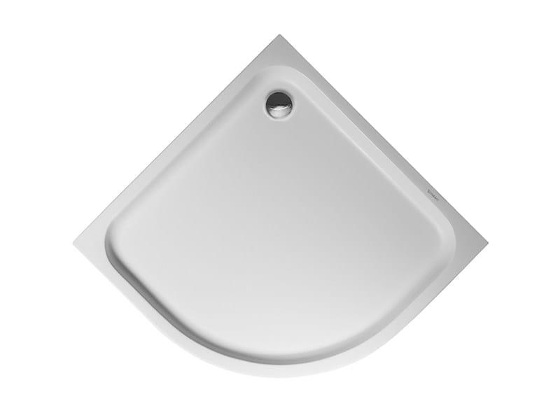 Corner acrylic shower tray D-CODE | 80 x 80 - DURAVIT