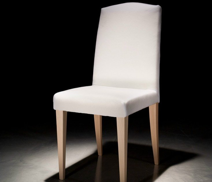 Wooden restaurant chair with removable cover SALLY - Callesella Arredamenti S.r.l.