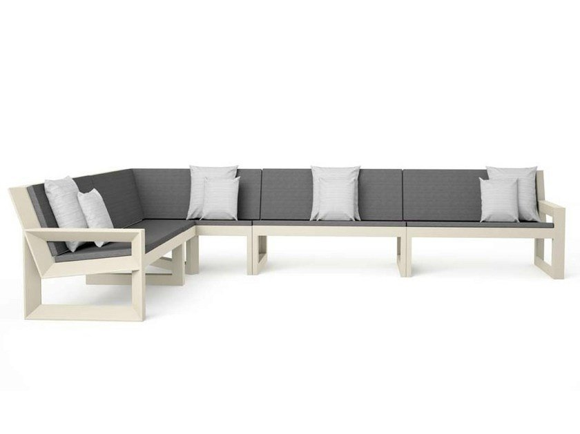 Sectional modular garden sofa FRAME | Sectional sofa - VONDOM