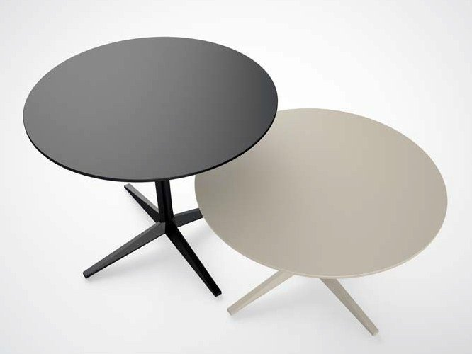Folding round table FAZ | Folding table - VONDOM