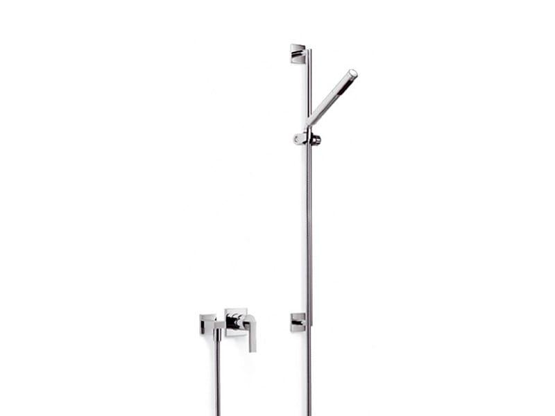 Shower wallbar with hand shower with mixer tap MEM | Shower wallbar by Dornbracht