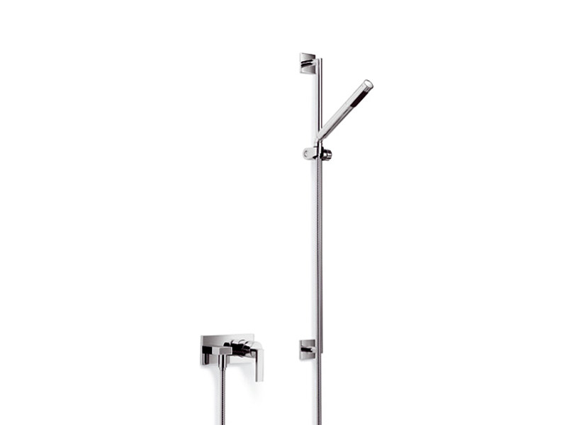 Shower wallbar with hand shower with mixer tap MEM | Shower wallbar by Dornbracht
