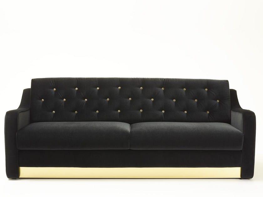 Tufted 3 seater sofa VICTOR | 3 seater sofa - MARIONI