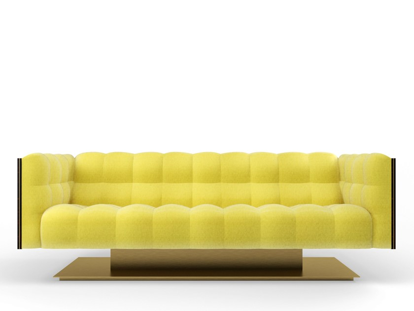 Tufted 3 seater fabric sofa MONTGOMERY | 3 seater sofa by MARIONI