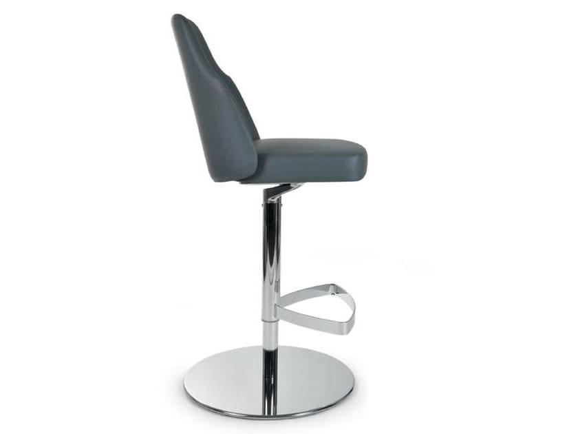 Swivel height-adjustable counter stool MIA STOOL | Counter stool - Riccardo Rivoli Design