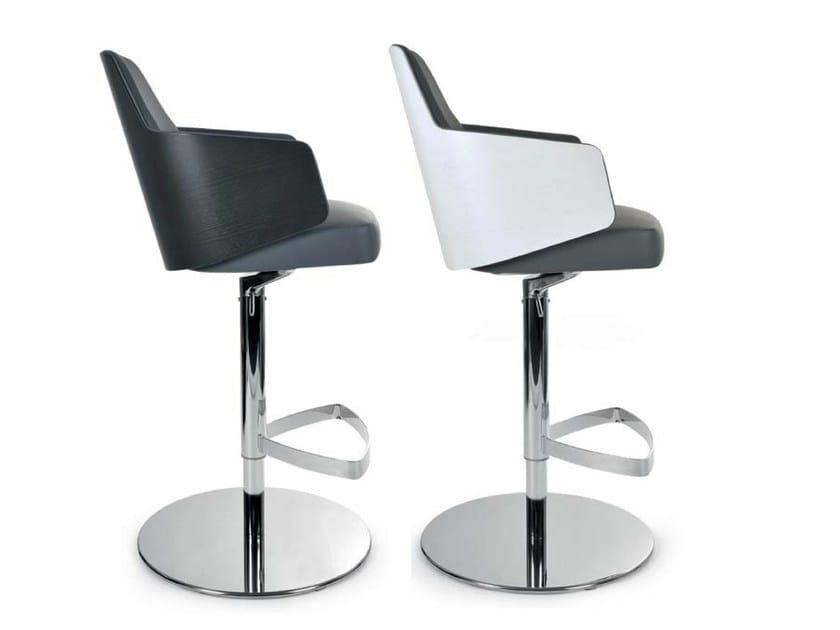 Sedia girevole con braccioli MIA STOOL  Sedia girevole - Riccardo Rivoli