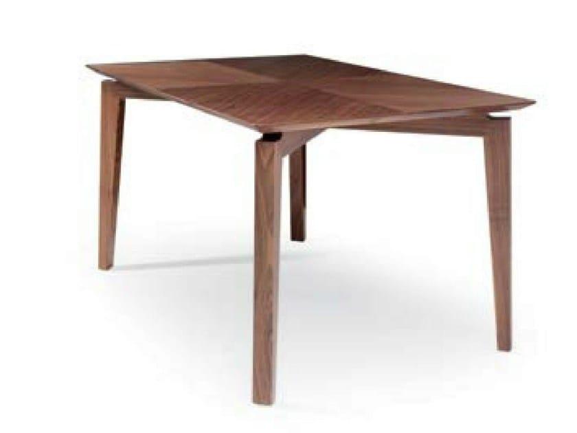 Rectangular wooden table MARLÈNE | Table - Riccardo Rivoli Design
