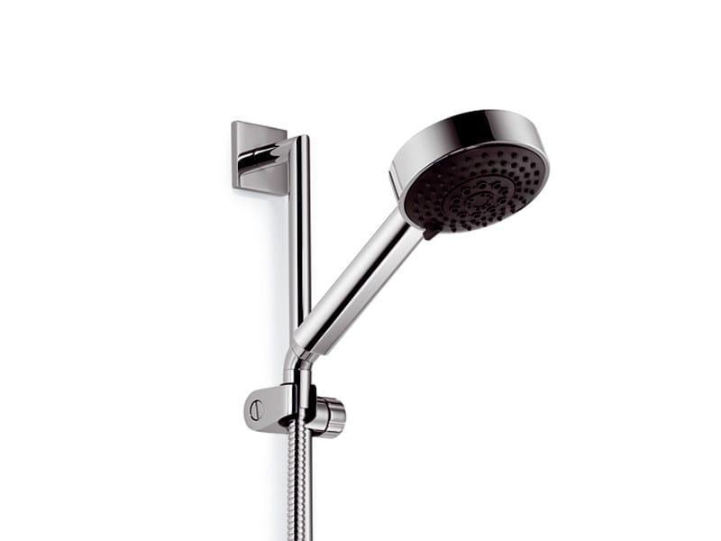 Handshower with hose with shower wallbar MEM | Handshower - Dornbracht