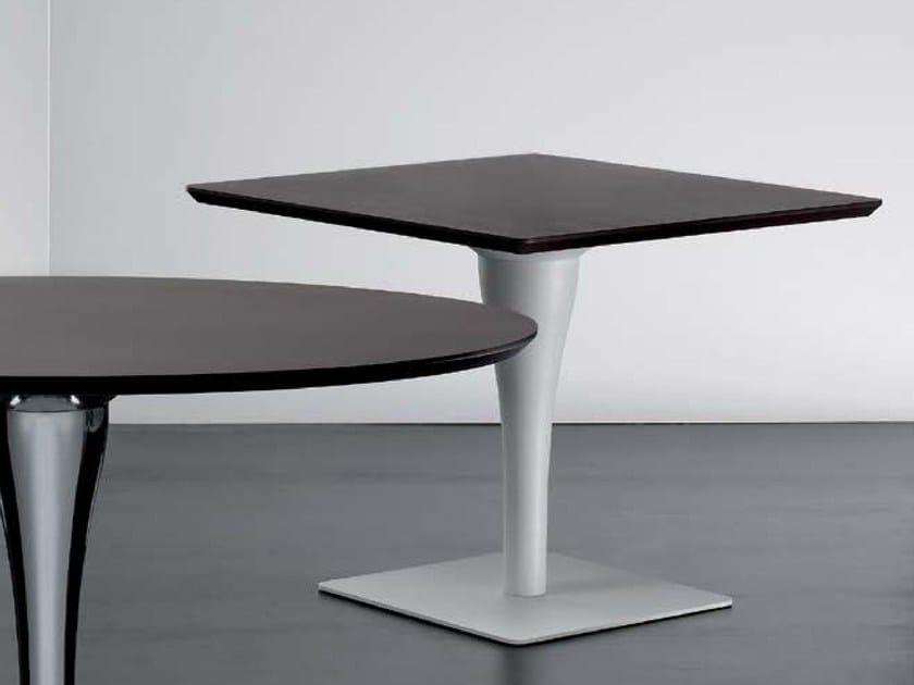 Square contract table JORGE   Square table by Riccardo Rivoli