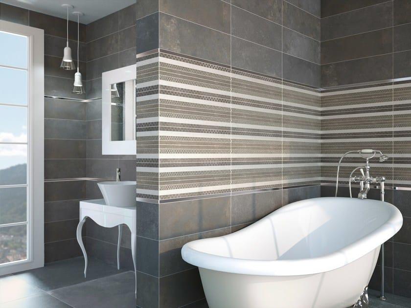 Ceramic wall/floor tiles with concrete effect SPUTNIK 20x60 - Carmen Ceramic Art