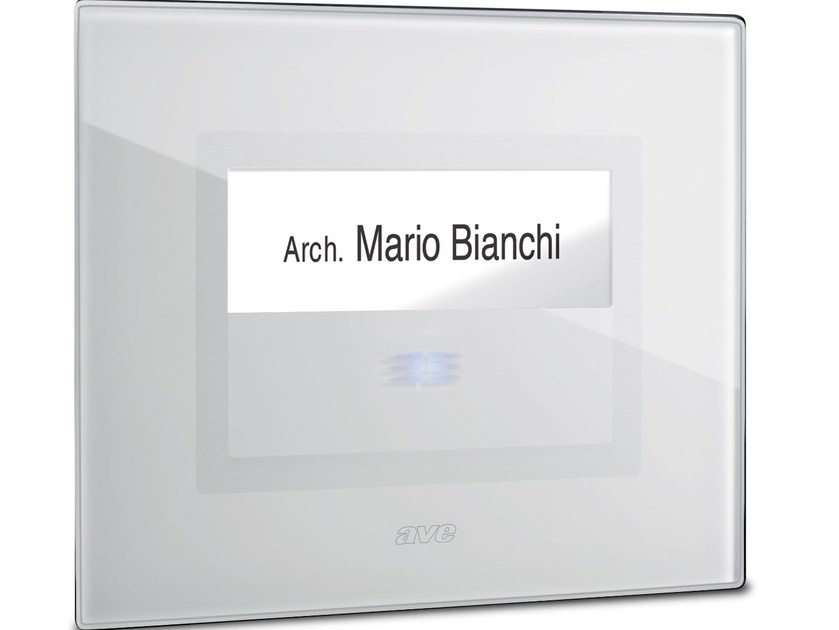 Push button to bell DOMUS TOUCH - AVE