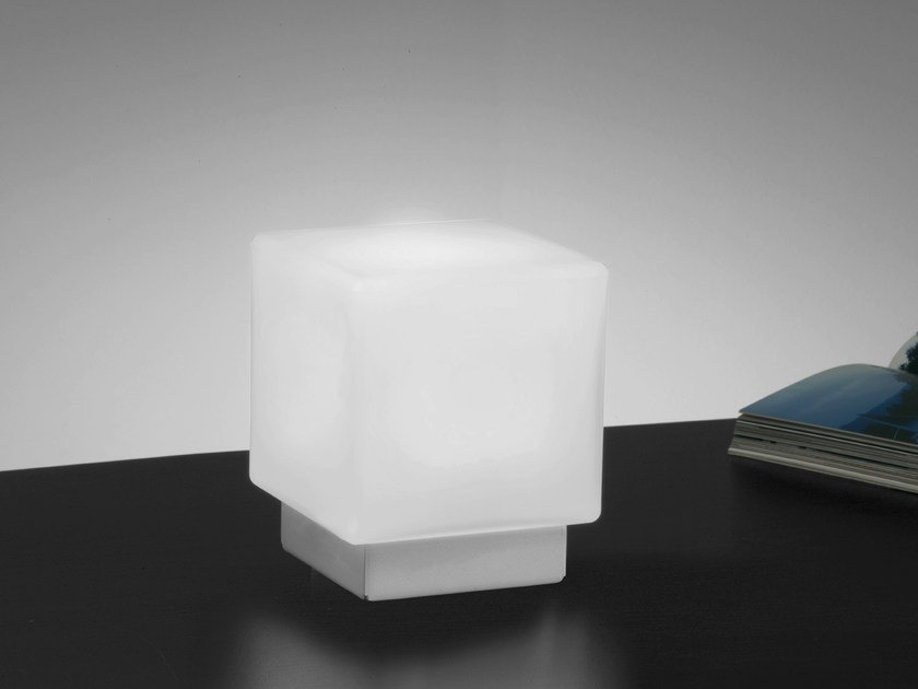 Glass table lamp CUBIS | Glass table lamp - Ailati Lights