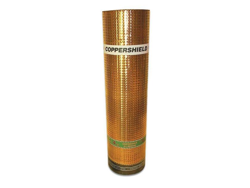 Prefabricated bituminous membrane COPPERSHIELD by POLYGLASS