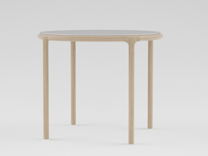 Round wooden table CAMEO | Round table - PIAVAL