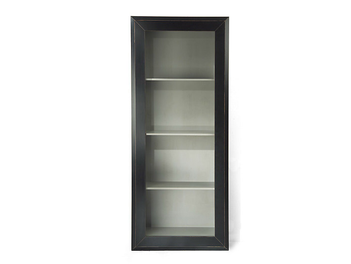 Wood and glass display cabinet NEW YORK | Wood and glass display cabinet - MARIONI