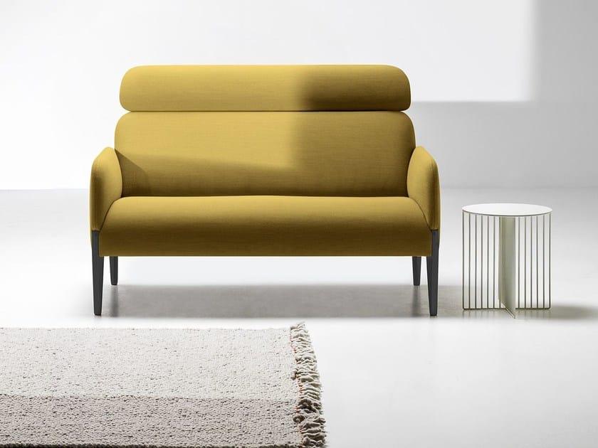 High-back fabric sofa JOIN | High-back sofa - La Cividina