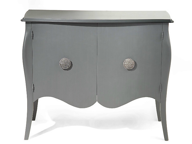 Wooden sideboard with doors FES | Sideboard by MARIONI