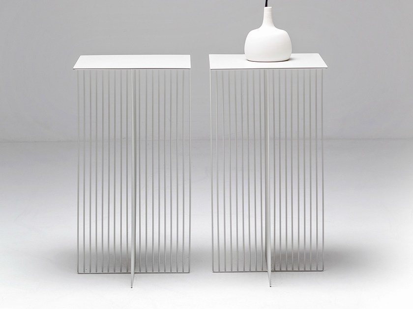 Steel coffee table ACCURSIO | Coffee table - La Cividina