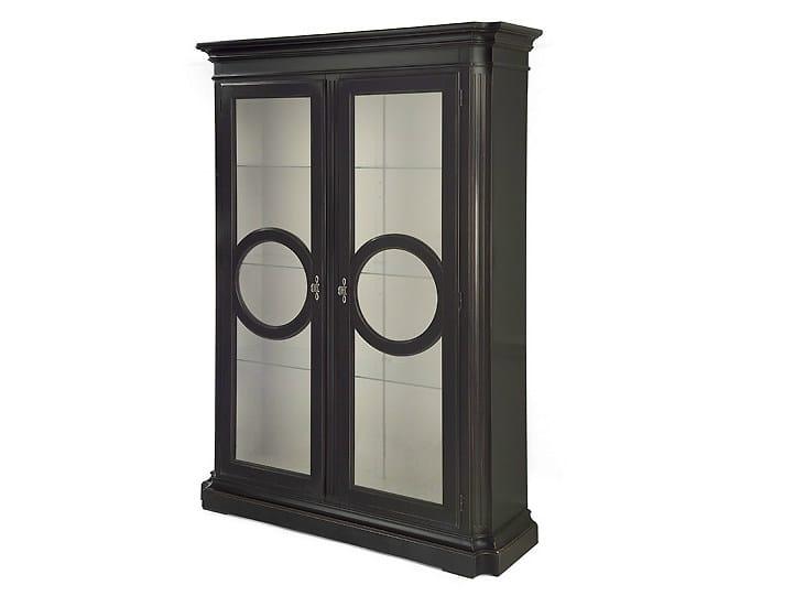 Wooden display cabinet EYE | Display cabinet - MARIONI