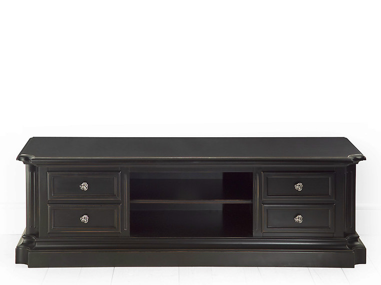 Low wooden TV cabinet EYE | TV cabinet - MARIONI