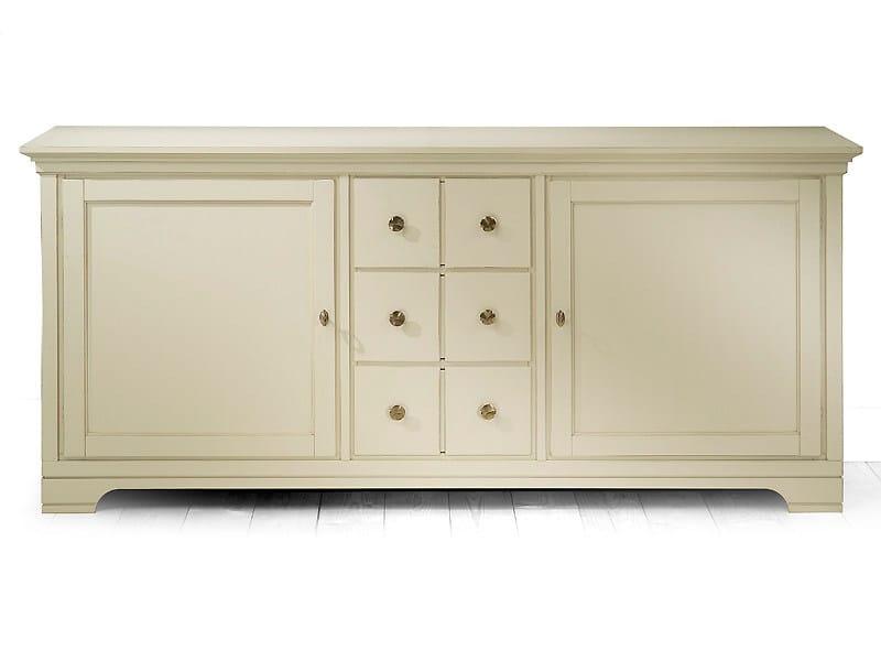 Wooden sideboard ASPEN | Wooden sideboard by MARIONI