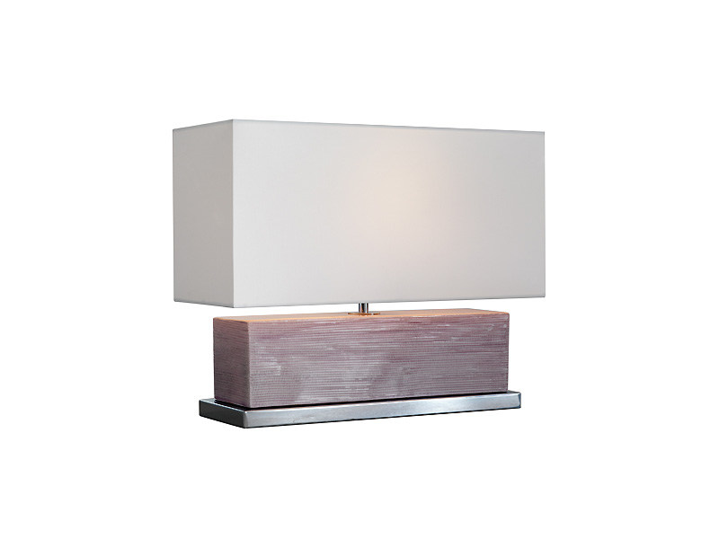 Direct-indirect light ceramic table lamp CLUB ONE - MARIONI