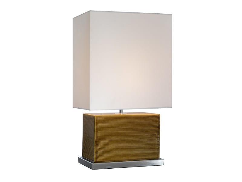 Ceramic table lamp CLUB TWO | Table lamp - MARIONI