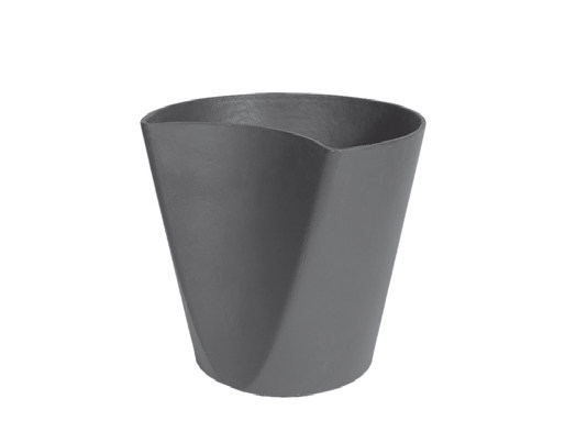 Low cement vase GINKO - SWISSPEARL Italia