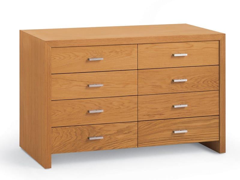Cajonera c moda de madera positano colecci n positano by - Muebles comodas y cajoneras ...