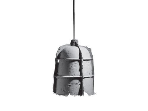 Cement pendant lamp MOLD by SWISSPEARL Italia