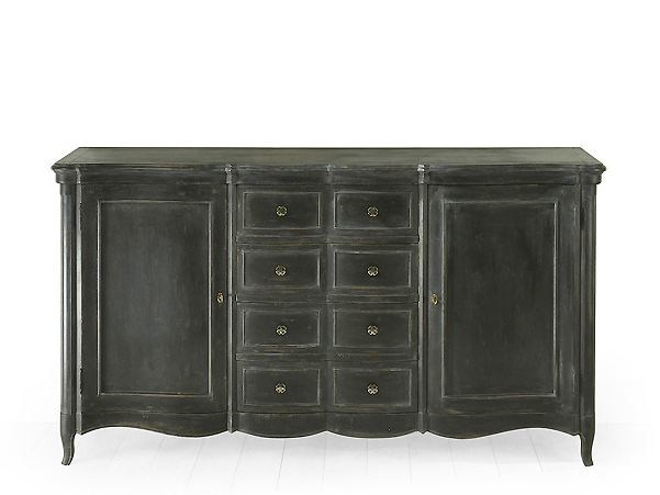 Wooden sideboard with doors with drawers CITRUS | Sideboard by MARIONI
