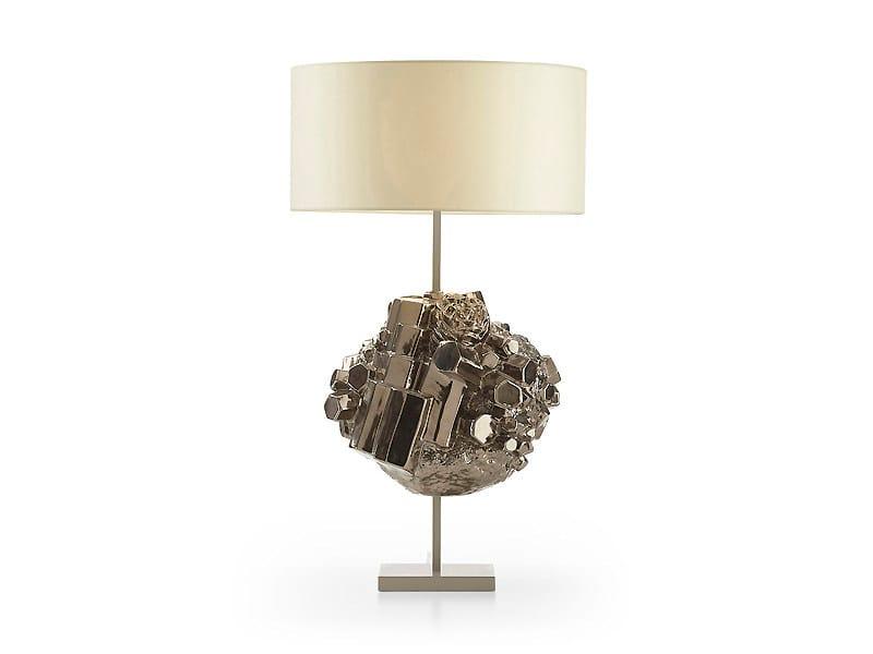 Ceramic table lamp JASPER | Table lamp - MARIONI