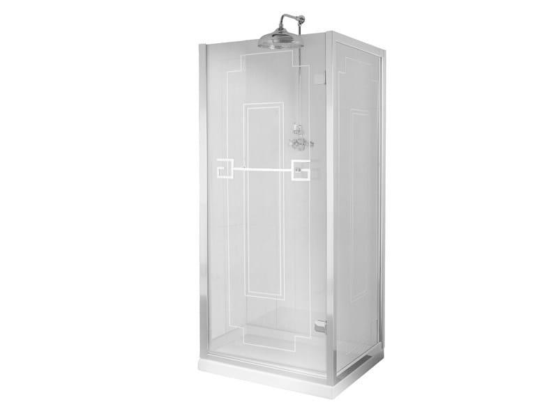 Rectangular glass shower cabin ATHENA | Shower cabin - GENTRY HOME