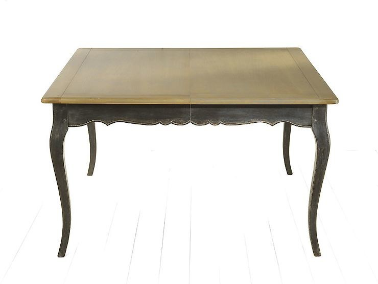 Extending wooden living room table CITRUS | Square table - MARIONI