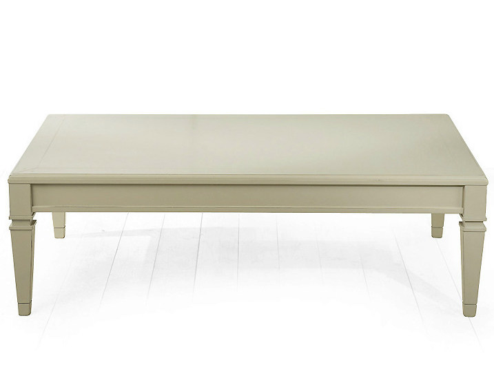 Rectangular wooden coffee table for living room BERLINO | Rectangular coffee table - MARIONI
